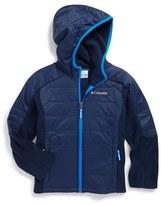 Columbia 'Fast Trek TM ' Omni-Shield ® Hybrid Jacket (Little Boys & Big Boys)