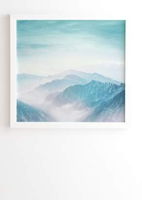 Deny Designs Viviana Gonzalez Pastel Landscape 04 Framed Wall Art