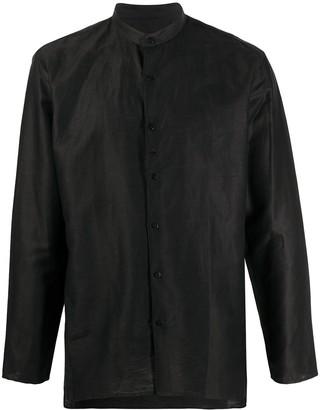 Costumein Mandarin Collar Long-Sleeved Shirt