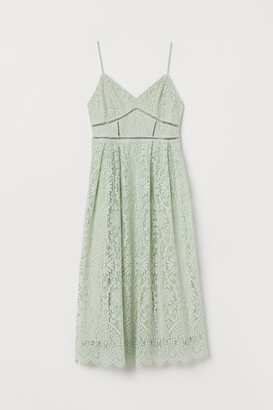 H&M Lace Dress - Green