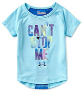 Under Armour Baby Girls 12-24 Months Can t Stop Me Short-Sleeve Tee