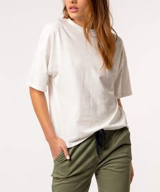 Kuwalla|Tee Women's Tee Shirts White - White Oversize Tee - Women