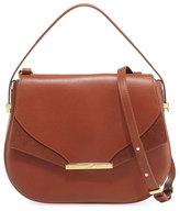 Khirma Eliazov Deedee Leather Saddle Bag, Brown