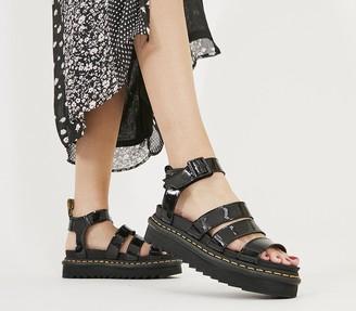 Dr. Martens Blaire Sandals Black Patent
