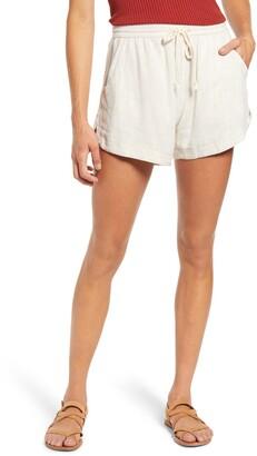 Tinsel Drawstring Shorts