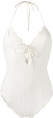 Marysia Swim Broadway scalloped swimsuit
