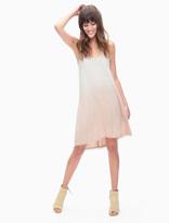 Splendid Dip Dye Twist Back Dress