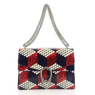 Gucci Dionysus Blue Python Handbags