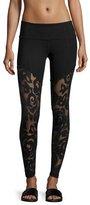 Vimmia Jaguar Tenacity Athletic Leggings, Black