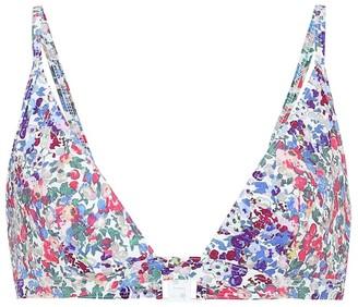 Isabel Marant Nial floral bikini
