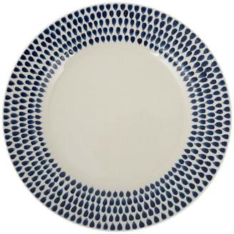 Nkuku Indigo Drop Dinner Plate