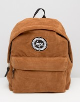 Hype Suede Backpack