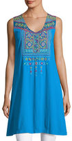 Johnny Was Dita Embroidered Long Tunic