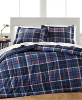 Jessica Sanders Graham Plaid 3 Piece King Comforter Set