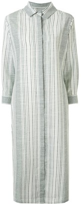 Bambah striped Mednia shirt dress