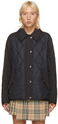Burberry Black Quilted Lavenham Jacket