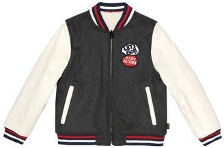 Little Marc Jacobs Reversible varsity jacket