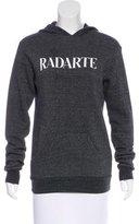 Rodarte Hooded Graphic Sweater