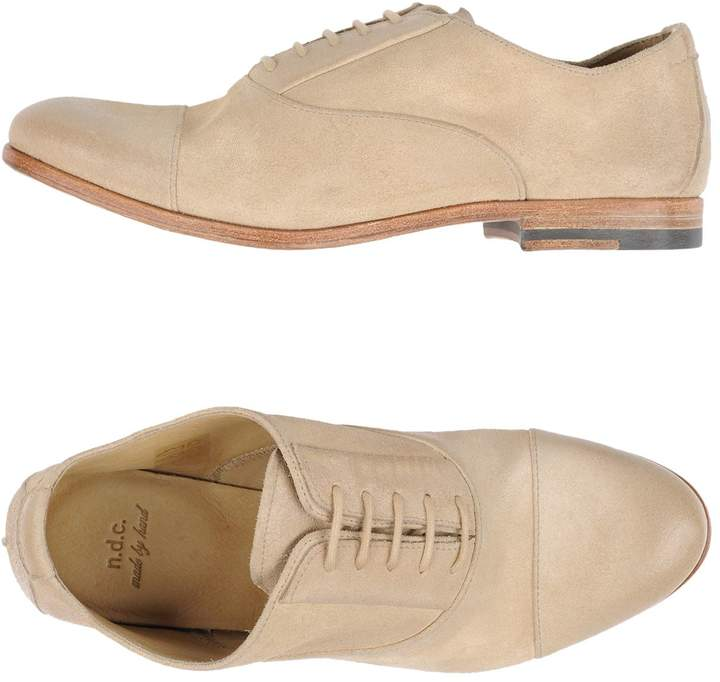 N.D.C. Made By Hand Lace-up shoes - Item 11197630