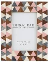 Shiraleah Griggio Triangle Inlay 4X6 Frame