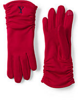 Classic Women's Casual EZ Touch Gloves-Deep Scarlet