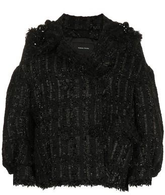 Simone Rocha Jacquard-Woven Jacket