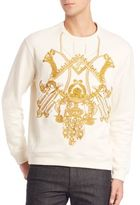 Versace Embroidered Sweatshirt