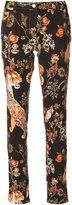 Etro printed straight-leg jeans - women - Cotton/Spandex/Elastane - 28