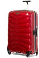 Samsonite NEW hard case polypropylene chilli red spinner luggage case