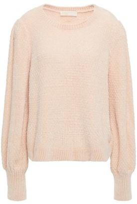 MICHAEL Michael Kors Gathered Chenille Sweater