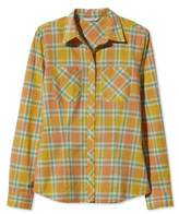 L.L. Bean Signature Women's Madras Shirt, Long-Sleeve