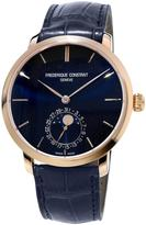 Frederique Constant Gents Slimline Manufacture Rose Gold Moonphase Watch