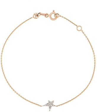 Kismet by Milka 14kt rose gold Struck Star diamond bracelet