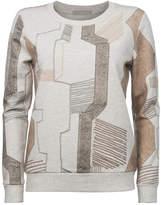 Ya-Ya Retro Printed Sweater