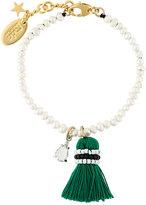 Rada' Radà pearl and tassel bracelet