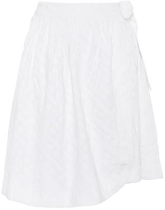 She Made Me Sita cotton wrap skirt