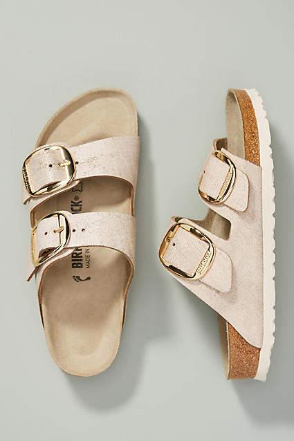 Birkenstock Arizona Sandals By in Blue Size 38