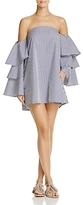 Faithfull The Brand Phi Phi Off-the-Shoulder Dress