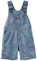 Osh Kosh Toddler Boy Embroidered Dinosaur Overalls