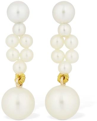 Sophie Bille Brahe Petite Tresse Pearl Drop Earrings