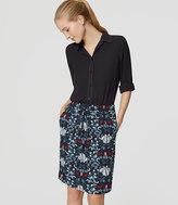 LOFT Iris Pull On Skirt
