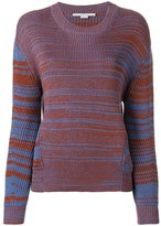 Stella McCartney dropped shoulder jumper - women - Silk/Cotton - 38