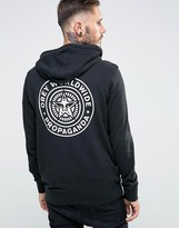 Obey Hoodie With Back Print