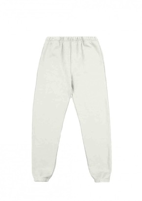 LES TIEN Ecru Cotton Trousers