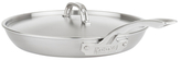 """12"""" 5-Ply Stainless Steel Covered Fry Pan"""