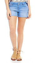 Celebrity Pink Woven Stretch Denim Shorts