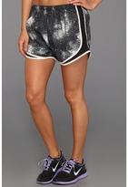Nike Printed Tempo Short (Black/Black/Gamma Grey/Matte Silver) - Apparel