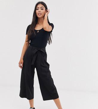 Asos DESIGN Petite mix & match culottes with tie waist