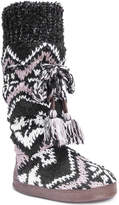 Muk Luks Women's Angie Boot Slippers