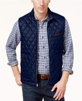 Tasso Elba Men's Quilted-Front Vest, Created for Macy's